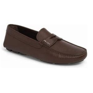 Prada men's driving loafers good condition